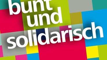 bunt und solidarisch