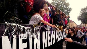 """""""Ausgehetzt"""" Demo München 22.07.2018"""