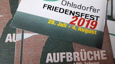 Deckblatt des Einladungsflyers zum OFF 2019